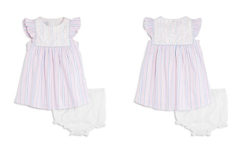 Pippa & Julie Girls' Striped Dress & Bloomers Set - Baby - Bloomingdale's_2