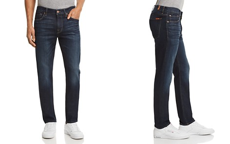7 For All Mankind Adrien Airweft Slim Fit Jeans in Concierge - Bloomingdale's_2