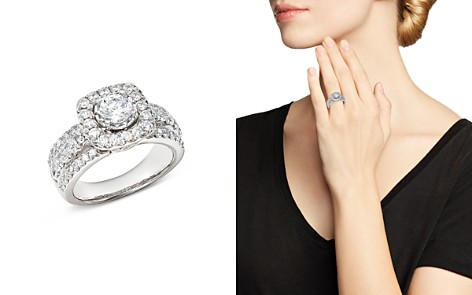 Bloomingdale's Diamond Halo Engagement Ring in 14K White Gold, 1.45 ct. t.w. - 100% Exclusive _2
