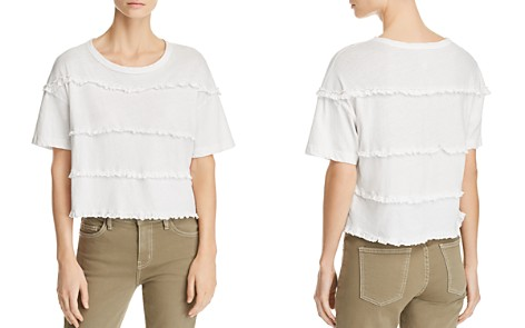 Current/Elliott The Claudia Ruffled Tee - Bloomingdale's_2