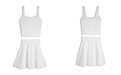 Sally Miller Girls' Willow Textured Top & Skirt Set - Big Kid - Bloomingdale's_2