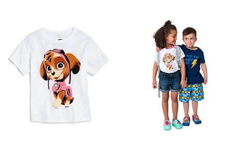 Junk Food x Nickelodeon Girls' PAW Patrol© Puppy Tee, Little Kid - 100% Exclusive - Bloomingdale's_2