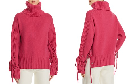 McQ Alexander McQueen Lace-Up Wool Sweater - Bloomingdale's_2