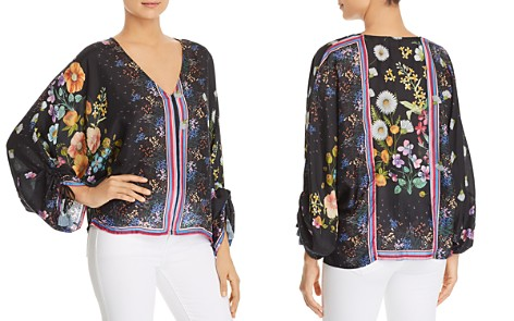 Johnny Was Forest Printed-Silk Blouse - Bloomingdale's_2