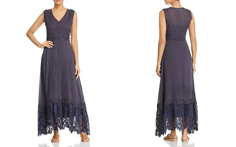 Johnny Was Gavin Lace-Detail Maxi Dress - Bloomingdale's_2