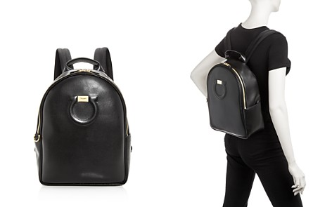 Salvatore Ferragamo Gancio City Leather Backpack - Bloomingdale's_2