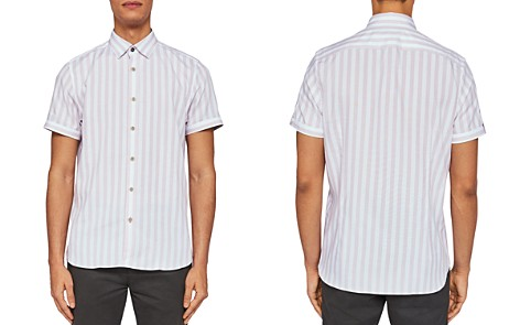 Ted Baker Notiss Verticle Stripe Regular Fit Button-Down Shirt - Bloomingdale's_2