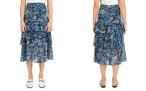 The Kooples Tiered Floral Paisley Skirt - Bloomingdale's_2