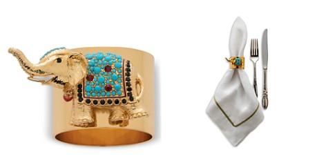 Joanna Buchanan Elephant Napkin Rings, Set of 2 - Bloomingdale's Registry_2
