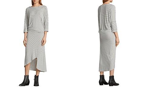 ALLSAINTS Cadie Striped Midi Dress - Bloomingdale's_2