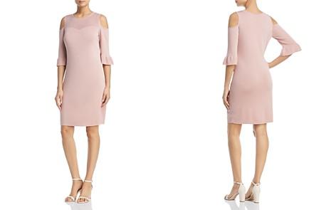 NIC+ZOE Cold-Shoulder Pointelle Dress - Bloomingdale's_2