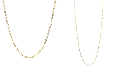 """Argento Vivo 18K Gold-Plated Sterling Silver Round Necklace, 36"""" - Bloomingdale's_2"""