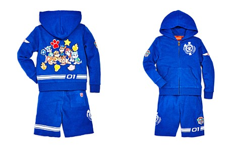 Butter x Nickelodeon Boys' PAW Patrol© Hoodie & Shorts Set, Little Kid - 100% Exclusive - Bloomingdale's_2