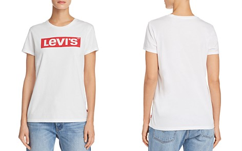 Levi's The Perfect Logo Tee - Bloomingdale's_2