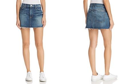 Hudson Vivid Cutoff Denim Mini Skirt in Fortune - Bloomingdale's_2