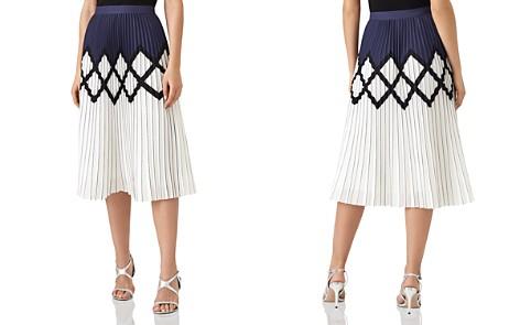 REISS Elsa Pleated Midi Skirt - Bloomingdale's_2
