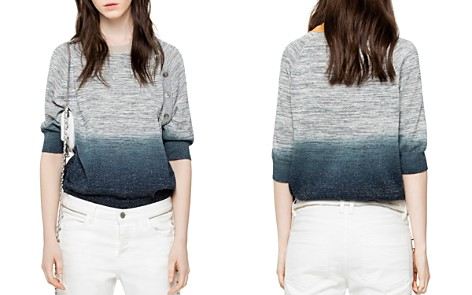 Zadig & Voltaire Just Dip-Dye Sweater - Bloomingdale's_2