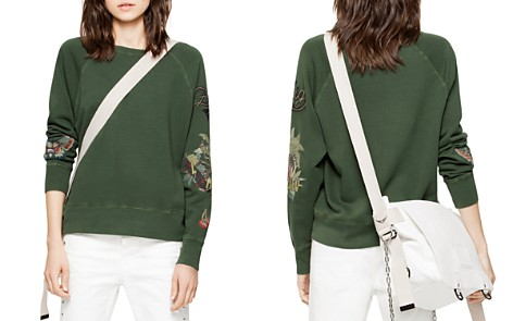 Zadig & Voltaire Embroidered Detail Sweatshirt - Bloomingdale's_2