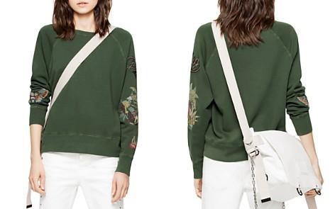 Zadig & Voltaire Embroidered Detail Sweatshirt - Bloomingdale's_2