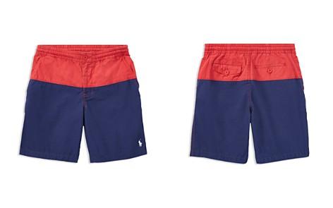 Polo Ralph Lauren Boys' Color-Block Poplin Shorts - Big Kid - Bloomingdale's_2
