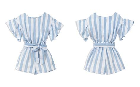 Habitual Girls' Dawn Stripe-Print Romper - Big Kid - Bloomingdale's_2