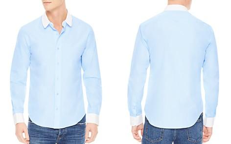 Sandro Club Slim Fit Button-Down Shirt - Bloomingdale's_2