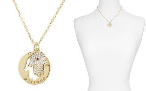 """Lulu DK Hamsa Pendant Necklace, 16"""" - Bloomingdale's_2"""