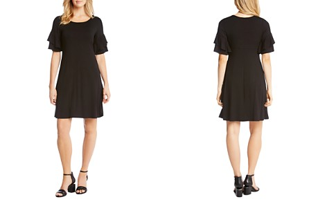 Karen Kane Ruffle-Sleeve Dress - Bloomingdale's_2