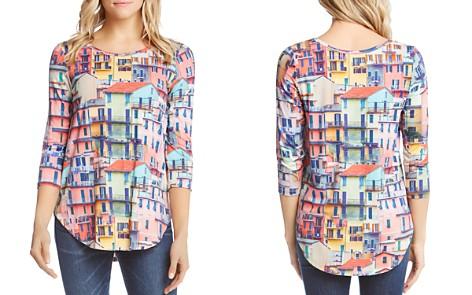 Karen Kane Rainbow Rooftop-Print Top - Bloomingdale's_2