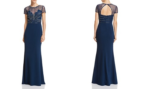 Adrianna Papell Embellished Mermaid Gown - Bloomingdale's_2