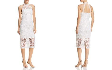 Laundry by Shelli Segal Mock-Neck Lace Dress - Bloomingdale's_2