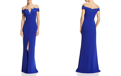 Aidan Mattox Off-the-Shoulder Gown - Bloomingdale's_2