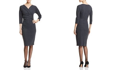 Weekend Max Mara Giglio Wrap-Effect Dress - Bloomingdale's_2