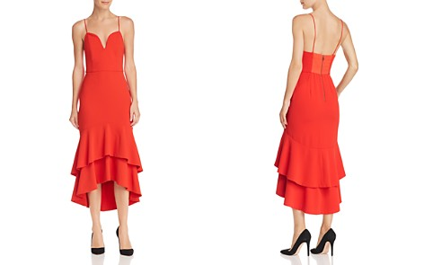 Alice + Olivia Amina Ruffled High/Low Dress - Bloomingdale's_2