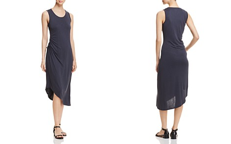 NIC+ZOE Relax and Ride Drawstring Tank Dress - Bloomingdale's_2