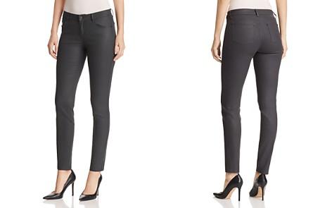 Lafayette 148 New York Mercer Coated Skinny Jeans in Eclipse - Bloomingdale's_2