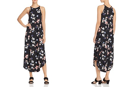 AQUA Floral Print Jersey Maxi Dress - 100% Exclusive - Bloomingdale's_2