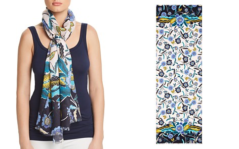Rebecca Minkoff Mixed Floral Oblong Scarf - Bloomingdale's_2