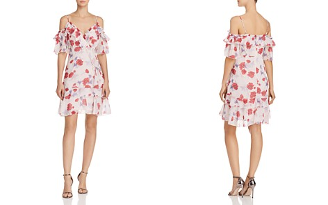 Endless Rose Ruffled Floral Cold-Shoulder Dress - Bloomingdale's_2