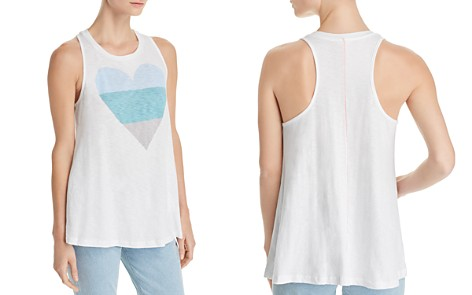 Sundry Heart Trapeze Tank - 100% Exclusive - Bloomingdale's_2