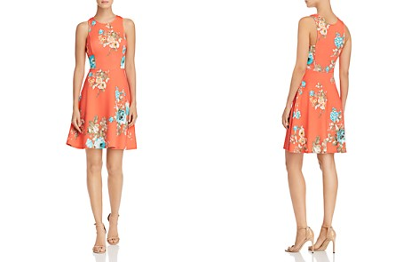 AQUA Floral Scuba Dress - 100% Exclusive - Bloomingdale's_2