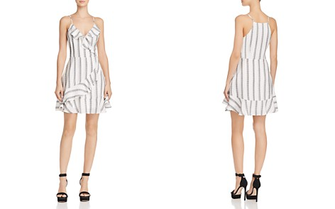 Blu Pepper Striped Faux-Wrap Dress - Bloomingdale's_2