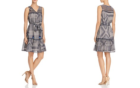 Rebecca Minkoff Nicky Printed Tassel-Tie Dress - Bloomingdale's_2
