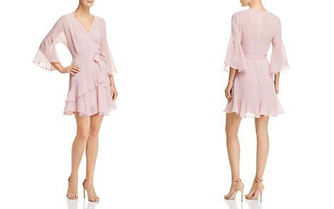FRENCH CONNECTION Ellette Ruffled Faux-Wrap Dress - Bloomingdale's_2