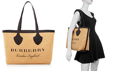 "Burberry ""The Giant"" Medium Printed Jute Tote - Bloomingdale's_2"