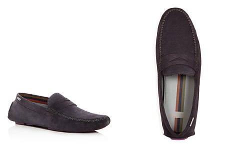 Ted Baker Men's Larcke Suede Penny Loafer Drivers - Bloomingdale's_2