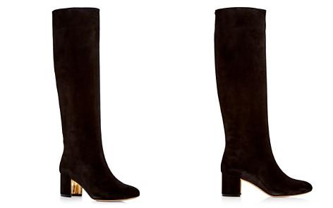 Salvatore Ferragamo Women's Vetto Suede Boots - Bloomingdale's_2