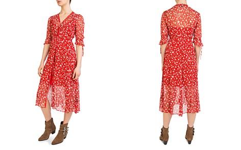 The Kooples Rosa Rosa Floral-Print Midi Wrap Dress - Bloomingdale's_2