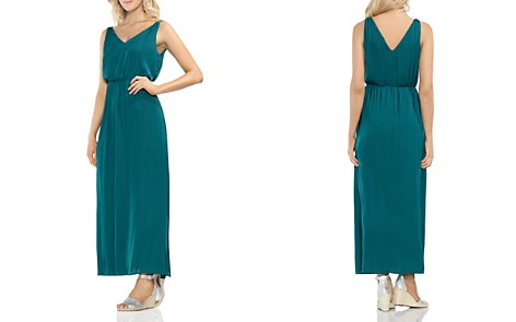 VINCE CAMUTO Double V-Neck Maxi Dress - Bloomingdale's_2