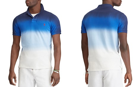 Polo Ralph Lauren Dip-Dyed Custom Slim Fit Mesh Polo Shirt - Bloomingdale's_2